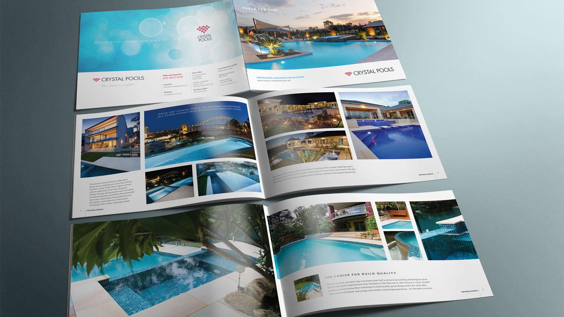 Print Marketing Company Brochure Sydney