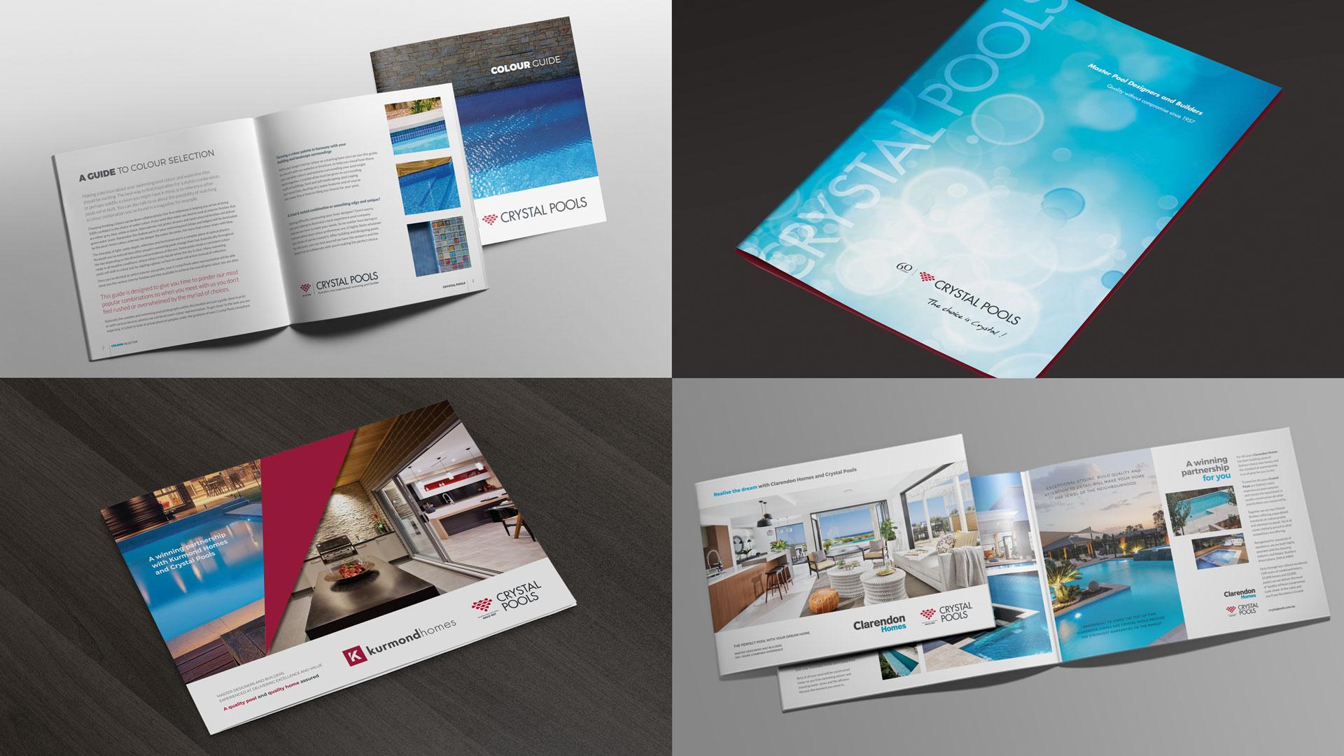 Design Print Marketing Brochures, Company Folders