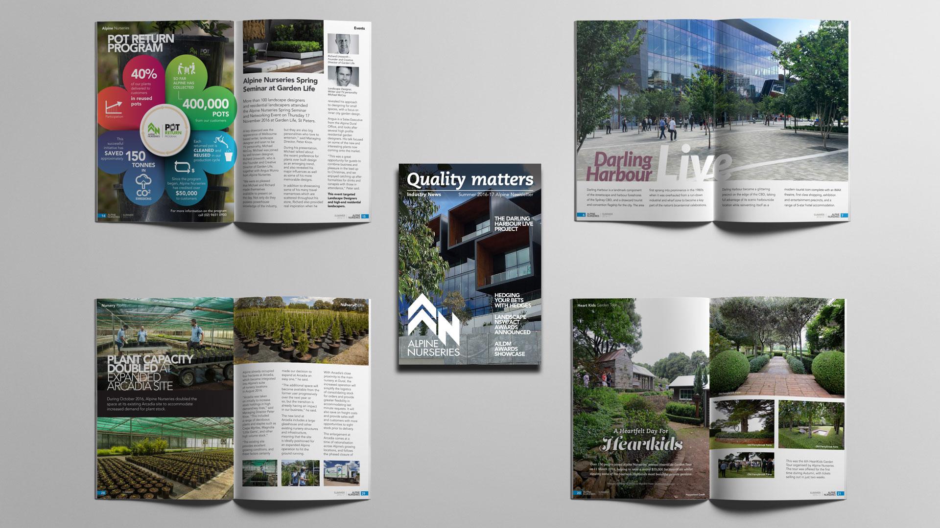 Magazine Company Newsletter Design, Content, Production