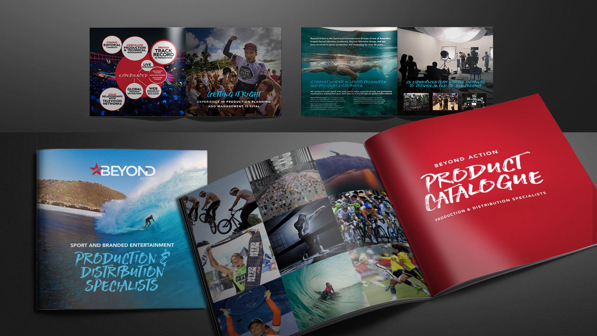 B2B Print Marketing Comapny Brochure Catalogue Design