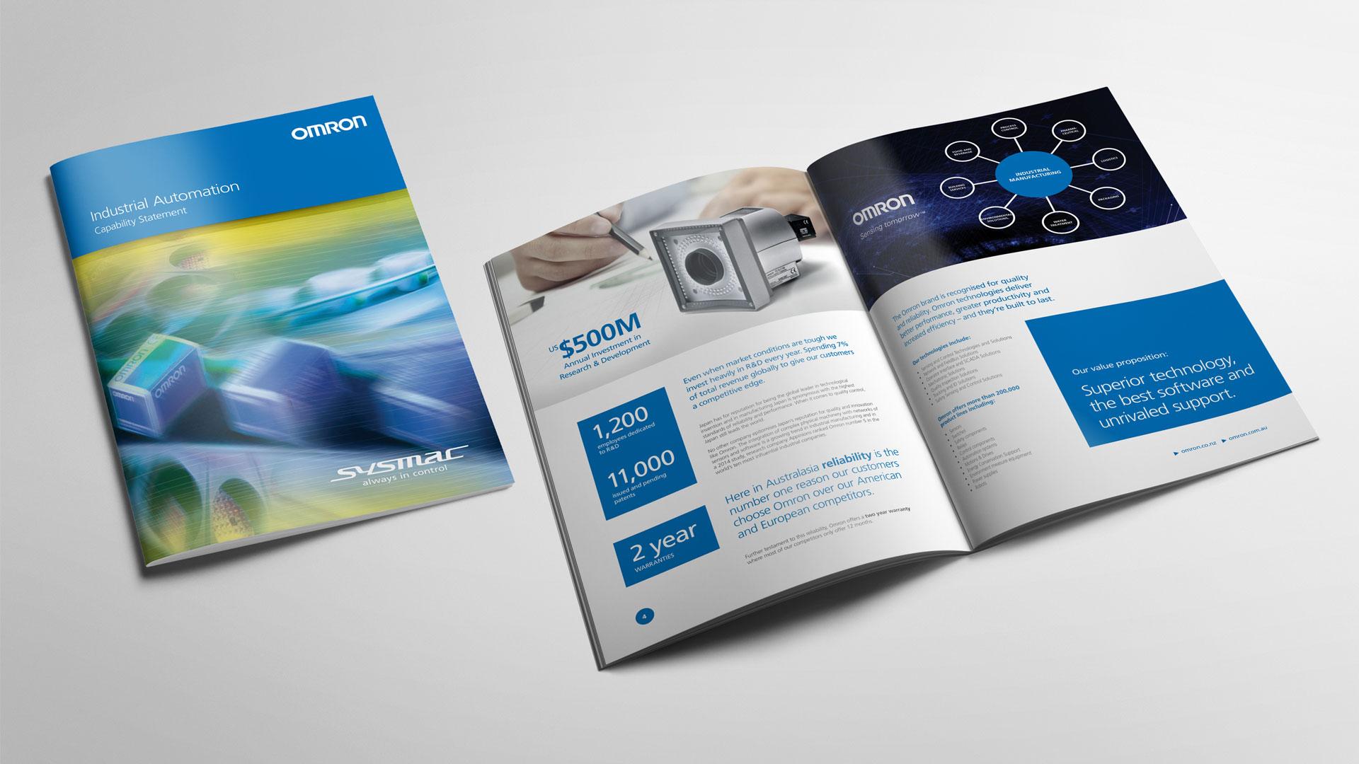Print Marketing Company Brochure Design, Writing, Content