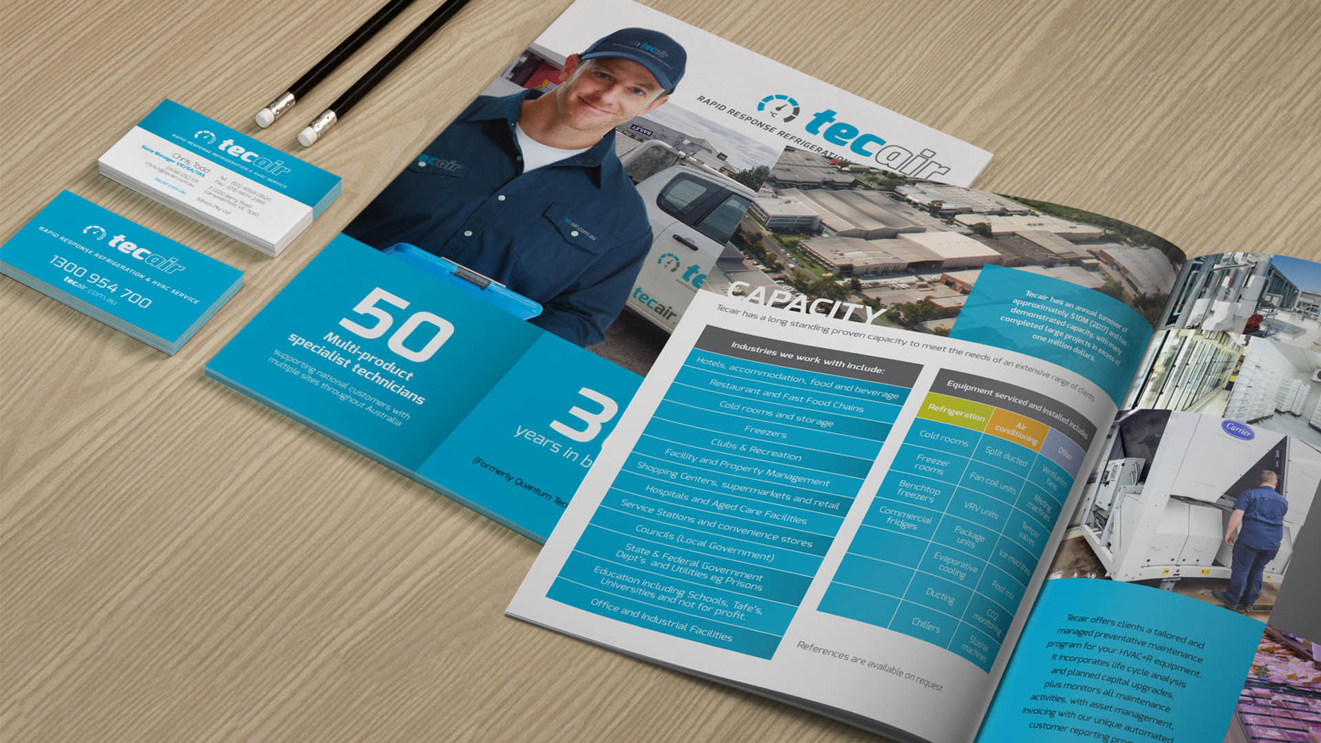 Brochure Design, Content Creation and Production