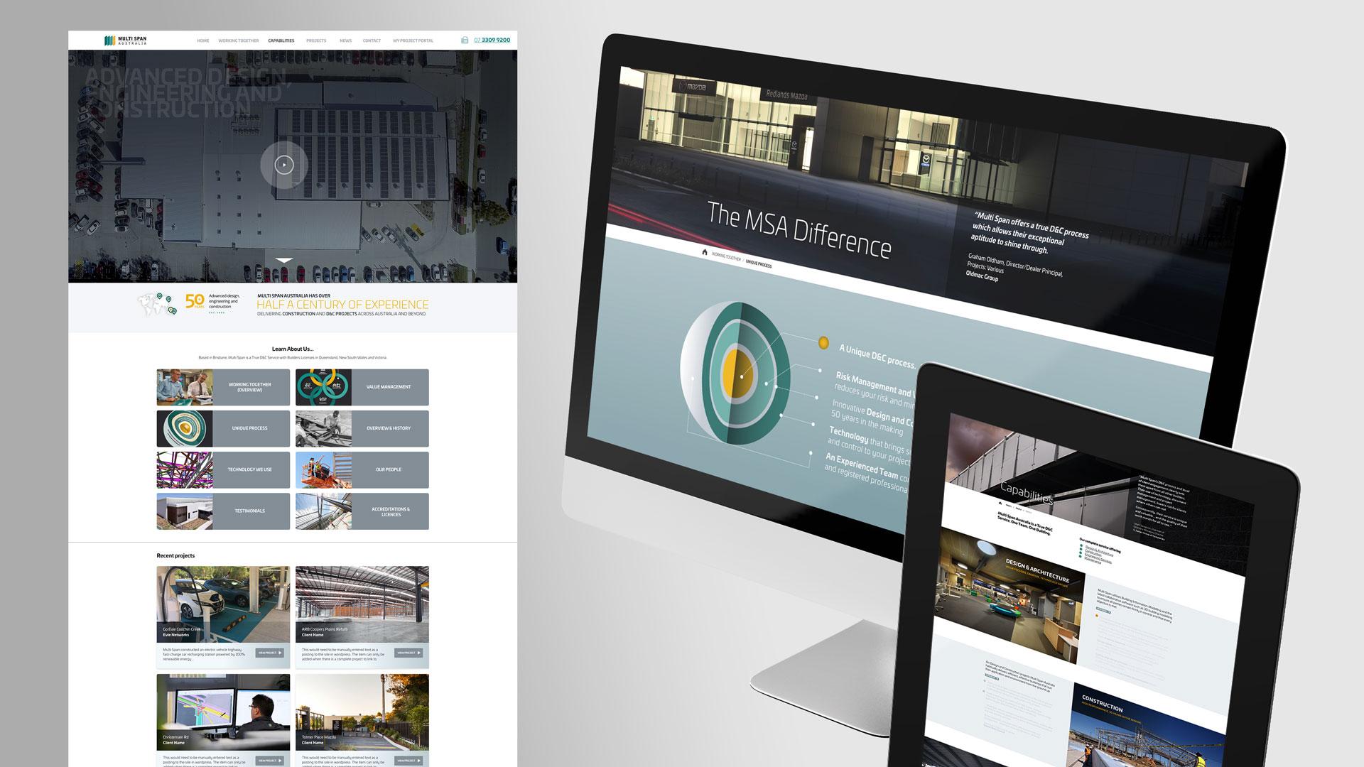 Website UX Design, Website Prototype Development