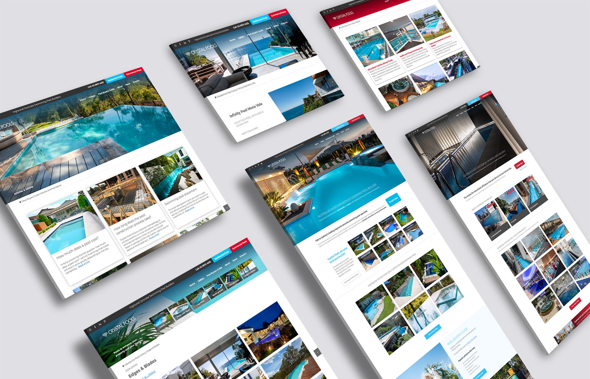 Website User Experience Design, Production and Content Creation