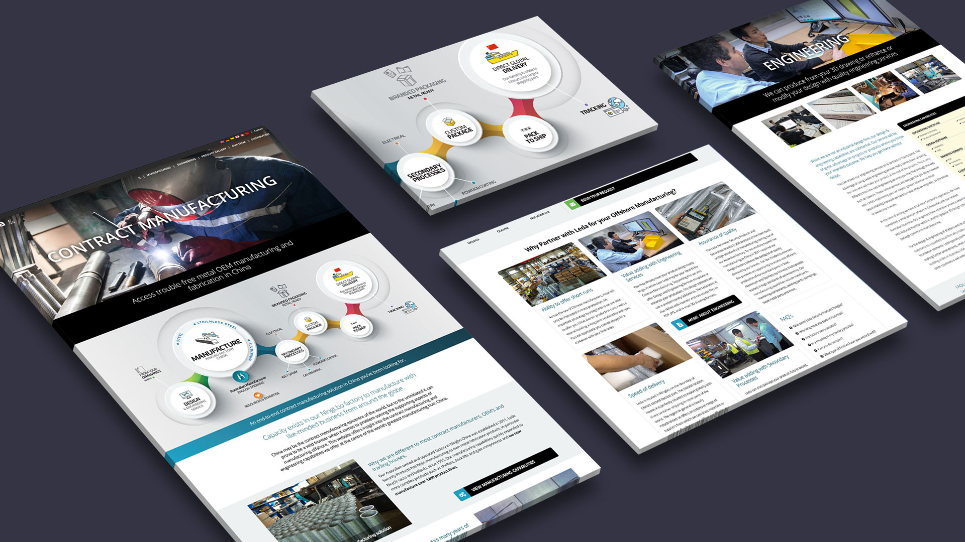 Website Design, Art Direction, Writing and Graphic Content